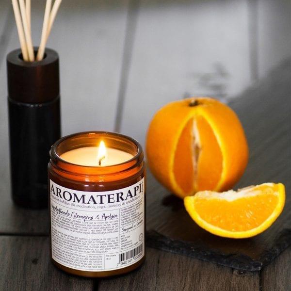 Aromaterapi - Doftljus - Klinta
