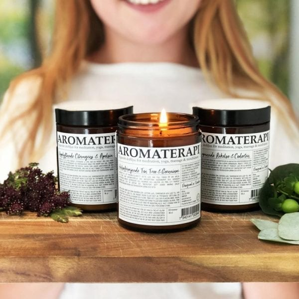 Aromaterapi Doftljus från Klinta