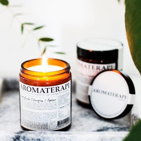 Aromaterapi Ljus från Klinta