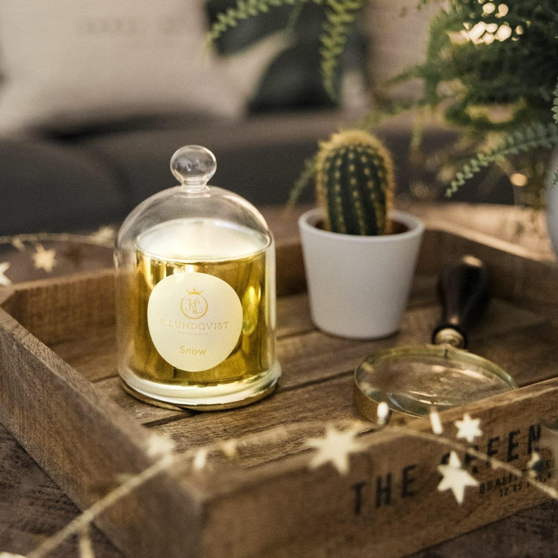 K. Lundqvist – Doftljus Snow Christmas Edition