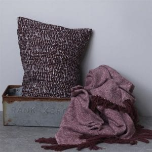 Gripsholm Kuddfodral - Cushion Cover Mika Wine