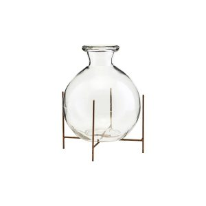 Lana vase w. stand - House Doctor